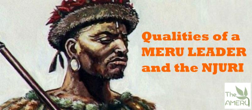 Meru Leader and the Njuri Ncheke