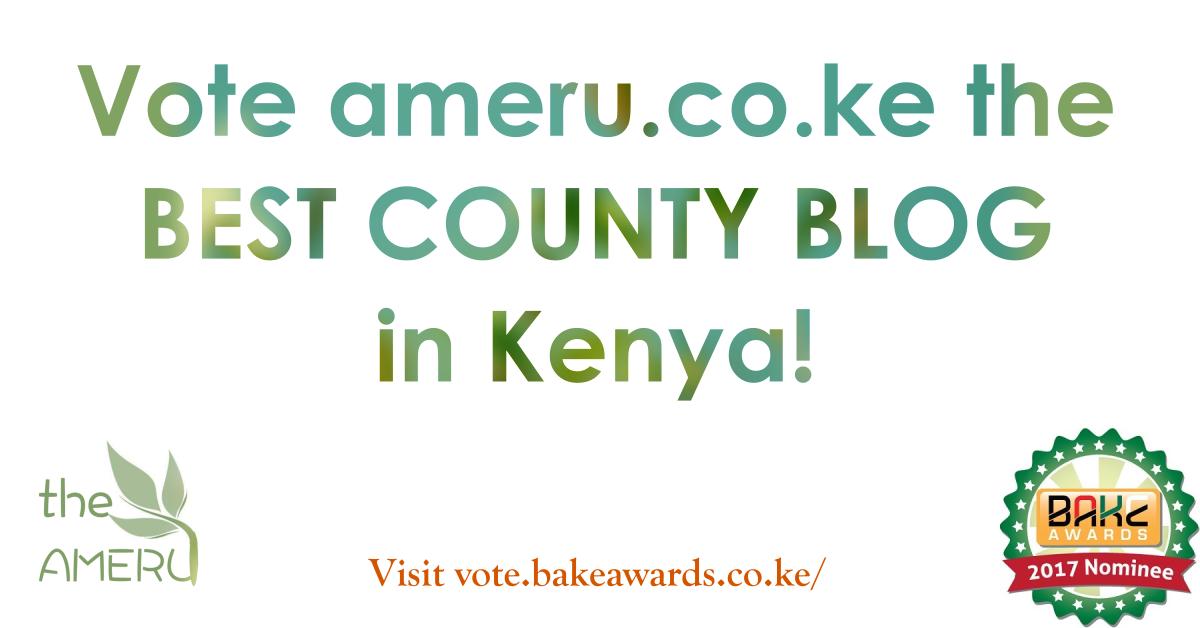 Vote Ameru.co.ke BAKE AWARDS